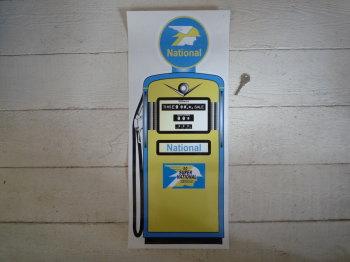 "National Petrol Pump Style Large Sticker. 24""."