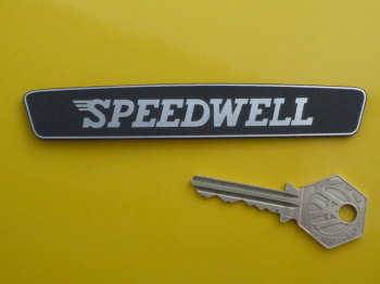 Speedwell Boot Badge Replica Laser Cut Self Adhesive Badge. 124mm.