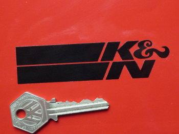 """K&N Engineering Cut Vinyl Stickers. 4"""" Pair."""