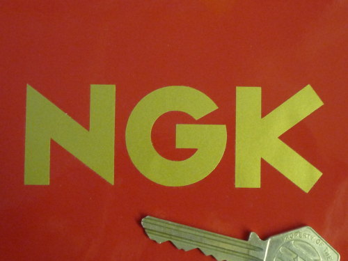NGK Text Cut Vinyl Stickers. 3.75