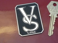 VeilSide Logo Laser Cut Self Adhesive Car Badge. 2