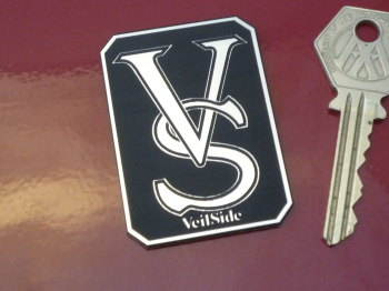 VeilSide Logo Laser Cut Self Adhesive Car Badge. 2""