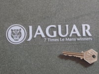 Jaguar 7 Times Le Mans Winners Window Sticker. 4
