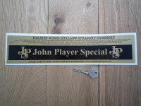 John Player Special JPS Straight & Shallow Helmet Visor Sunstrip Sticker. 12