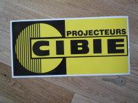 Cibie Projecteurs Yellow & Black Large Sticker. 13