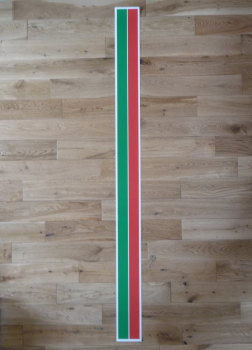 "Castrol GTX Body Stripe Plain Sticker. 57.5""."