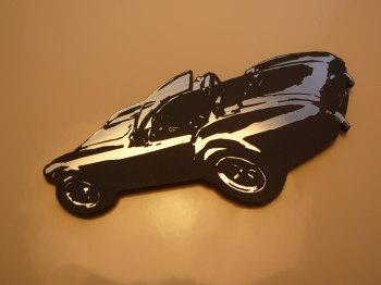 "AC Cobra Style Laser Cut Magnet. 3"""