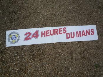 """24 Heures Du Mans A.C.O Le Mans Art Banner. 84""""."""