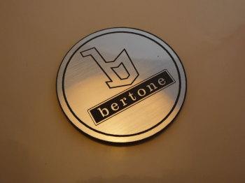 "Bertone Logo Style Laser Cut Magnet. 1.75"""