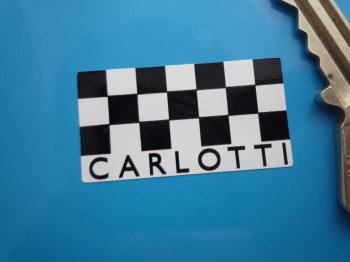 "Carlotti Steering Wheel Stickers. 0.75"" or 1.5"" Pair."
