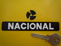 Nacional Crash Helmet Sticker. 5