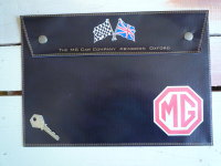 MG Crossed Flag Style Document Holder/Toolbag. 10