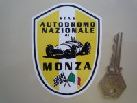 Monza Autodromo Nazionale Shield Sticker. 3.5