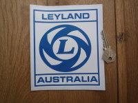 Leyland Australia Framed Logo Sticker. 4