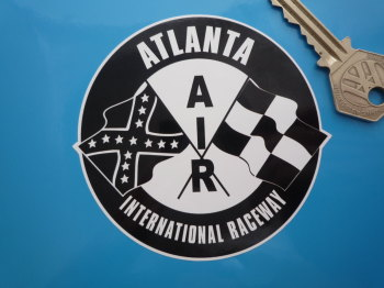 "Atlanta International Raceway AIR Sticker. 3.5""."