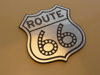 "Route 66 Shield Style Laser Cut Magnet. 1"" or 2"""