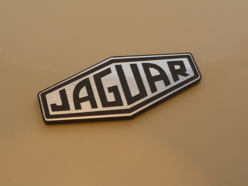 Jaguar Lozenge Style Laser Cut Magnet. 2