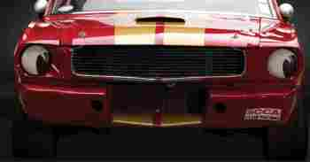 Race Car Headlight Eyes False Headlamp Moon Style Stickers. 145mm Pair.