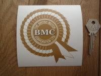 BMC British Motor Corporation Rosette Window Sticker. 4