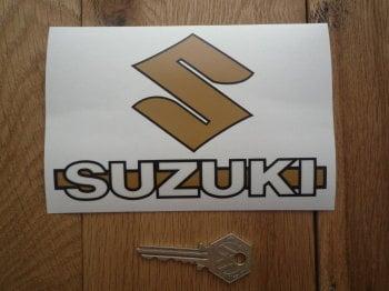 """Suzuki Text & S Style Window Sticker. 6""""."""