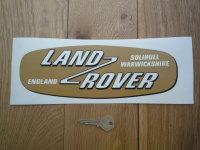 Land Rover Shaped Window Sticker. 11