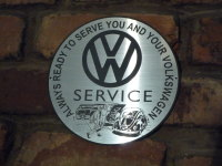 Volkswagen VW Service Style Garage Workshop Wall Plaque Sign. 8
