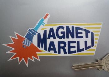 "Magneti Marelli Spark Plug Style Sticker. 5""."
