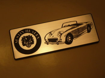 "Austin Healey Frogeye Sprite Oblong Style Laser Cut Magnet. 3"""