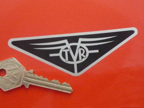 TVR Old Style Triangular Logo Sticker. 4