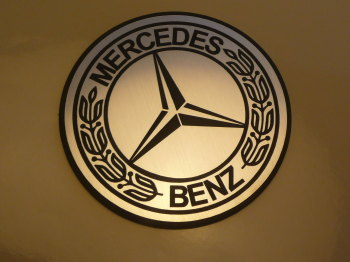 "Mercedes Benz Logo Style Laser Cut Magnet. 3"""