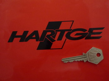 "BMW Hartge Logo Cut Vinyl Stickers. 6"" Pair."