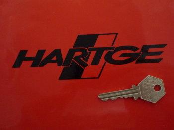 "BMW Hartge Logo Cut Vinyl Stickers. 6"" Pair."