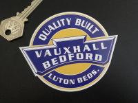 "Vauxhall Bedford Quality Built Sticker. 4""."