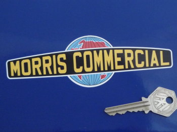 "Morris Commercial Shaped Sticker. 6""."