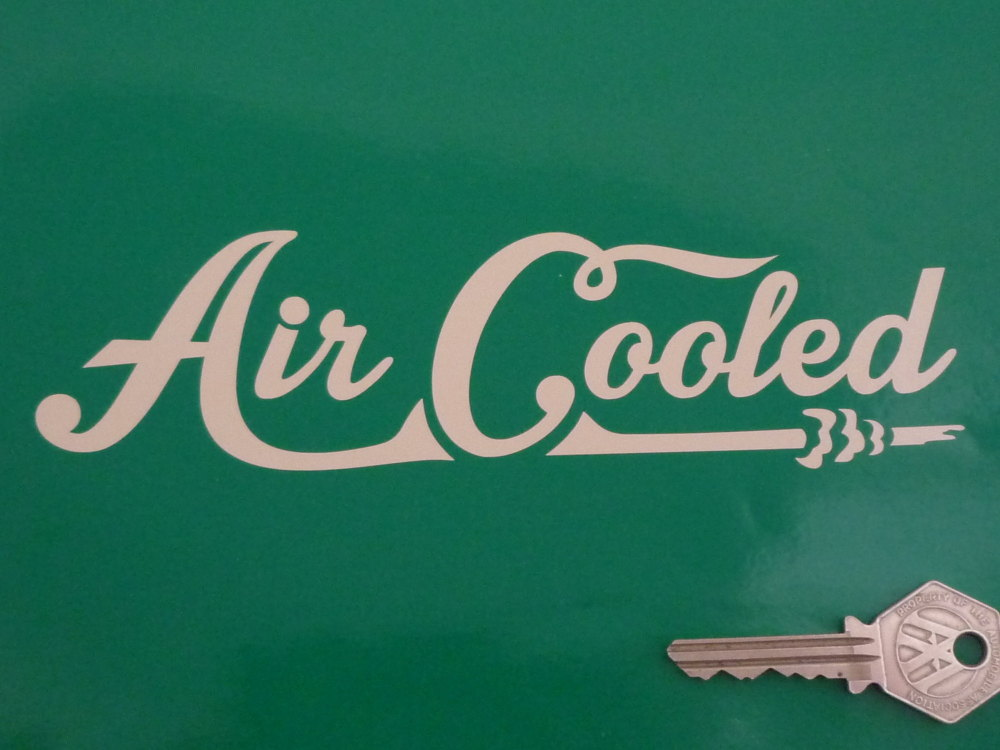 "Air Cooled Cut Vinyl Sticker. 7""."