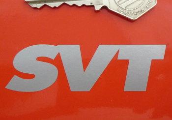 "SVT Cut Vinyl Stickers. 3"" Pair."