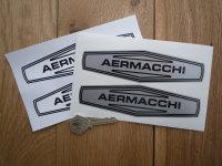 Aermacchi Black & White or Black & Silver Stickers. 6