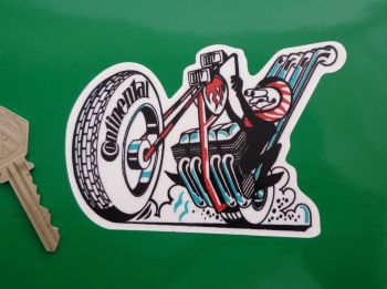 "Continental Tyres Chopper Rider Sticker. 4.5""."