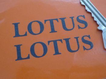 Lotus Classic Text Cut Vinyl Victory Sport 160 Stickers. 65mm Pair.