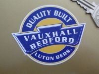 Vauxhall Bedford Quality Built Static Cling Window Sticker. 3