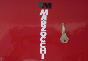 """Marzocchi Cut Vinyl Stickers. Various Colours. 7"""" Pair."""