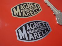 "Magneti Marelli Superpotente Foil Style Sticker. 2"" or 2.5""."