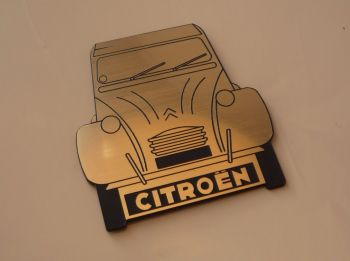 "Citroen 2CV Style Laser Cut Magnet. 2.25"""