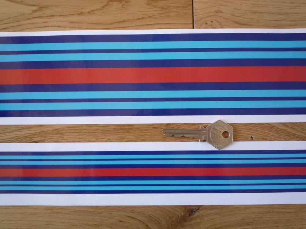 Martini Racing Plain Body Stripe Style Sticker. 55.5