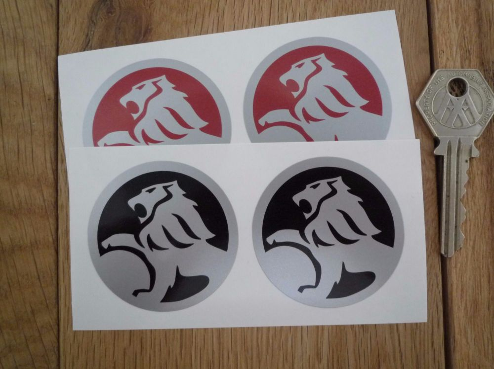 "Holden Circular Stickers. 2"" Pair."
