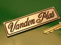Vanden Plas Laser Cut Self Adhesive Car Badge. 4