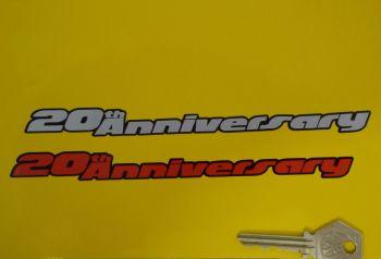 """Volkswagen VW Golf Gti Mk3 20th Anniversary Sticker. 7""""."""