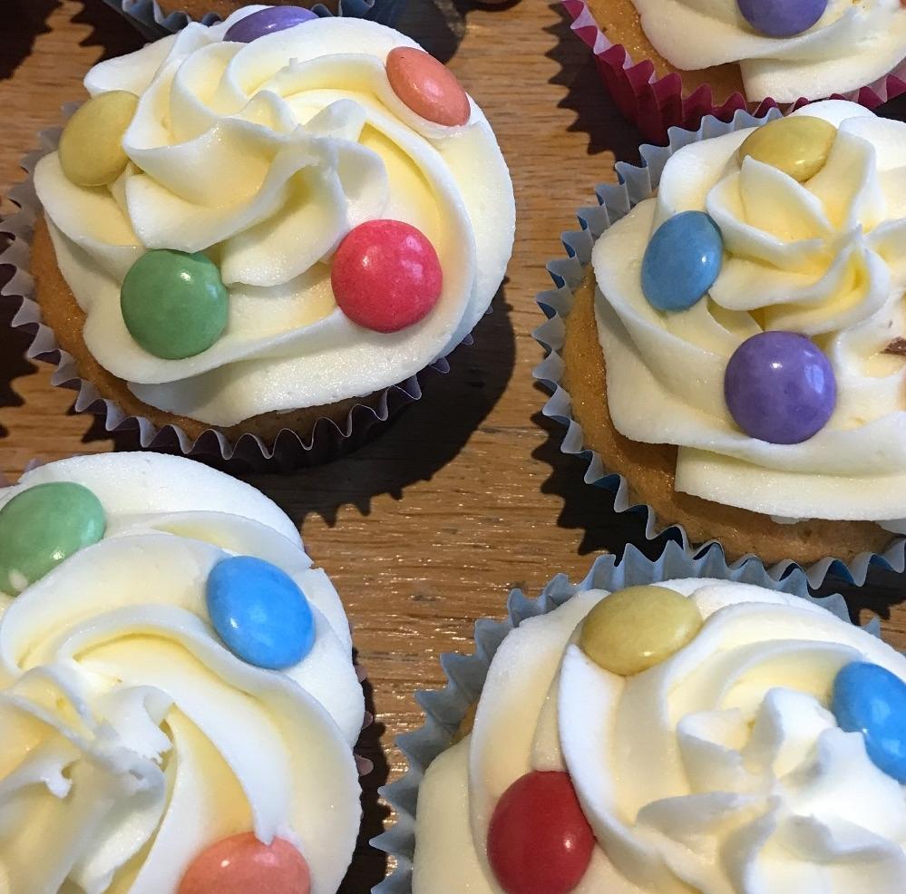 Signature Smarties Cupcake