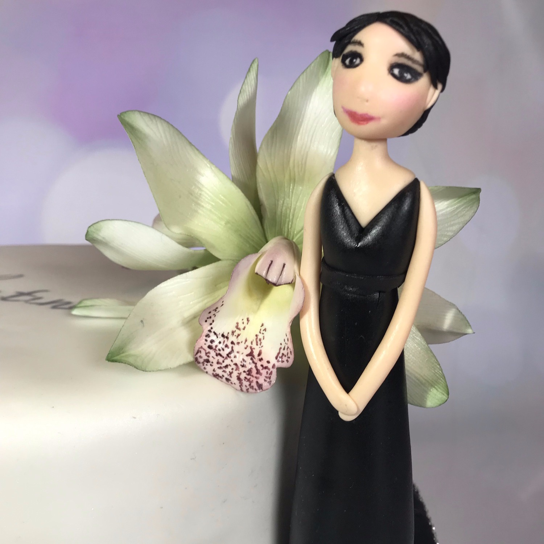 Orchid Meme Cake