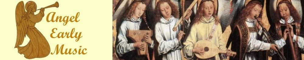 Angel Early Music, site logo.